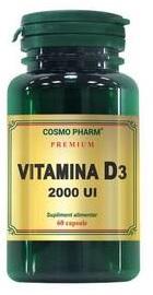 Vitamina D3 2000 UI - Cosmopharm