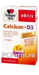 Calciu & D3 cu vitamina C si K - DoppelHerz