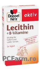 LECITINA + VITAMINE B + VITAMINA E, capsule - DoppelHerz