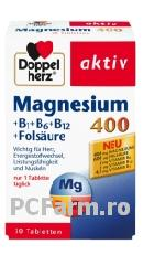 Magneziu + B1 + B6 + B12 + acid folic - Doppel Herz