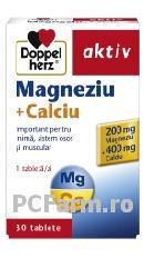Magneziu + Calciu - DoppelHerz