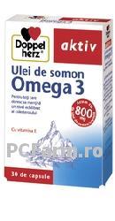 Ulei de somon Omega 3 - DoppelHerz