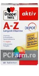 Vitamine A-Z Retard cu Luteina - DoppelHerz