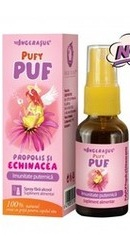 Ingerasul Pufy PUF Spray Propolis si Echinacea - Dacia Plant