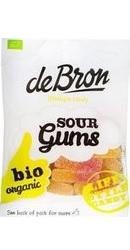 Jeleuri BIO gumate acrisoare cu aroma de fructe – Debron