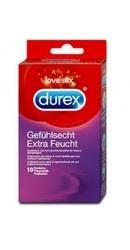 Prezervative Durex Extra Feucht