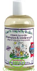 Sampon si gel de dus levantica (0-5 ani) - Earth Friendly Baby