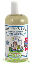 Sampon si gel de dus musetel (0-5 ani) - Earth Friendly Baby
