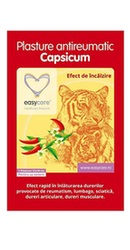 Plasturi antireumatici cu capsicum – Easy Care