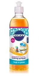 Solutie concentrata spalat vase cu floare de portocal si nuca de cocos - Ecozone
