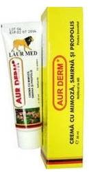 Aur Derm Crema cu mimoza smirna si propolis  - Elzin Plant