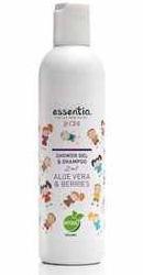 2 in 1 Gel de dus si Sampon pentru copii cu Aloe Vera si Fructe de Padure - Essentiq