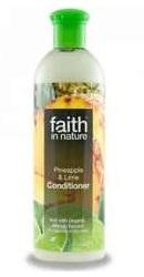 Balsam de par cu ananas si lime pentru par normal sau gras - Faith in Nature