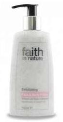 Exfoliant pentru fata si corp cu coacaze negre si galbenele - Faith in Nature