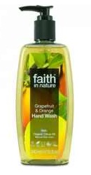 Sapun lichid cu grapefruit si portocale - Faith in Nature