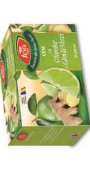 Ceai cu ghimbir si lamai verzi - Fares
