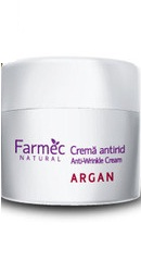Natural Crema antirid cu Argan - Farmec