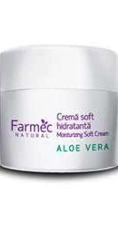 Natural Crema soft hidratanta cu Aloe Vera - Farmec