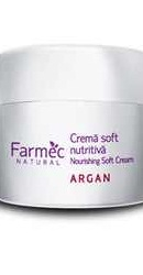 Natural Crema soft nutritiva cu Argan - Farmec