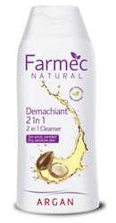 Natural Demachiant 2 in 1 cu Argan - Farmec