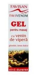 Favivenom Gel pentru masaj cu venin de Vipera - Favisan