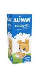 Alinan Calciu D3 Sirop - Fiterman