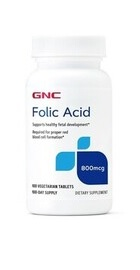 Acid Folic 800 MCG - GNC