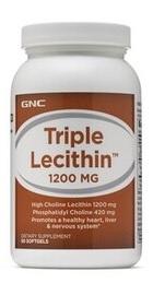 Lecitina Tripla 1200 mg - GNC