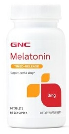 Melatonina 3 mg - GNC