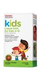 Milestonesa Kids Liquid DHA cu aroma Portocala - GNC