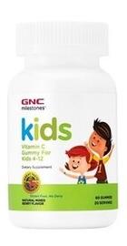 Milestonesa Kids Vitamina C Aroma Fructe de Padure - GNC