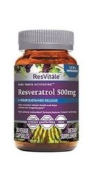 ResVitale Resveratrol 500 mg - GNC