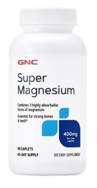Super Magnesium 400 mg - GNC