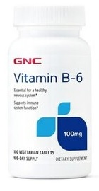 Vitamin B6 100 mg - GNC