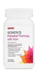 Womens Prenatal Formula Prenatala cu Fier - GNC