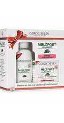 Caseta Cadou Melcfort : Crema antirid riduri superficiale si lapte demachiant - Gerocossen