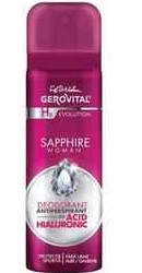 Gerovital H3 Evolution Deodorant Antiperspirant  Sapphire Woman - Farmec