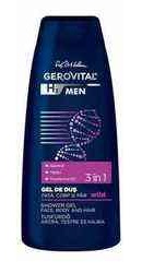 Gerovital H3 Men Wild Gel de dus 3 in 1 - Farmec