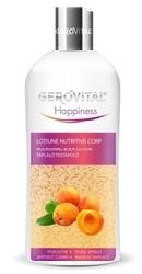 Gerovital Happiness Lotiune nutritiva corp - Efect stralucire - Farmec