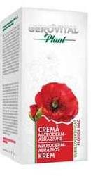 Gerovital Plant Crema microderm-abraziune - Farmec