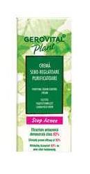 Gerovital Plant Stop Acnee Crema sebo-reglatoare purificatoare - Farmec