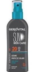 Gerovital Sun MEN Care Lotiune protectie solara SPF20 - Farmec