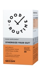 Good Routine Synergize Your Gut - Secom