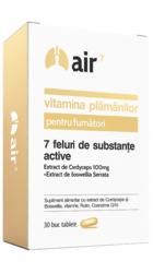 Air 7 Vitamina plamanilor pentru fumatori - Green Splid