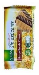 Napolitana pentru diabetici cu crema cacao fara zahar - Gullon