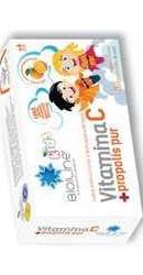 Vitamina C cu Propolis pur pentru copii - Helcor