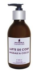 Lapte de corp cu migdale si cocos - Hera Medical