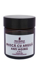 Masca cu argila Anti-Aging - Hera Medical