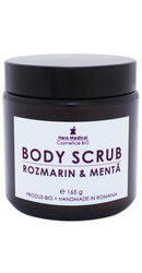Body Scrub cu rozmarin si menta - Hera Medical