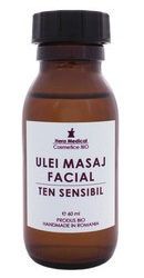 Ulei de masaj facial ten sensibil - Hera Medical